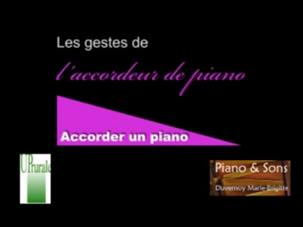 Accordage du piano
