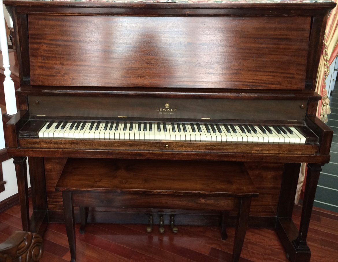 Piano Lesage Made in Québec