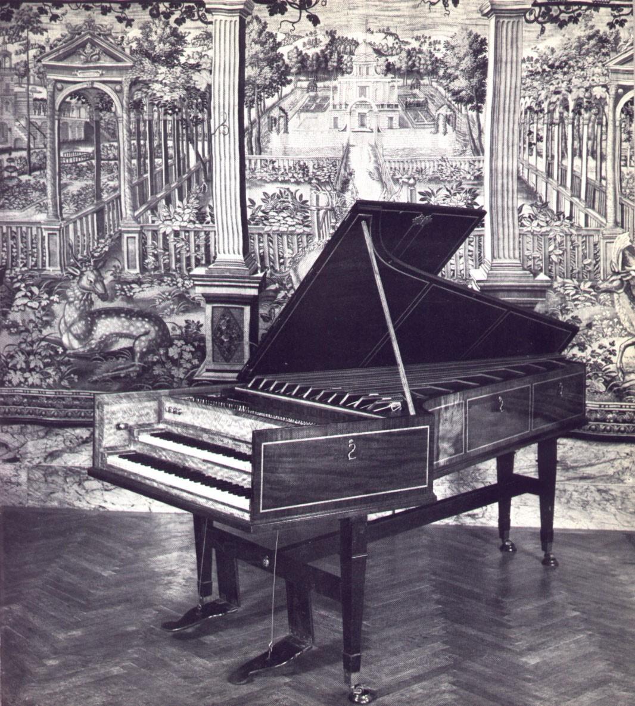 Clavecin double clavier de Haydn
