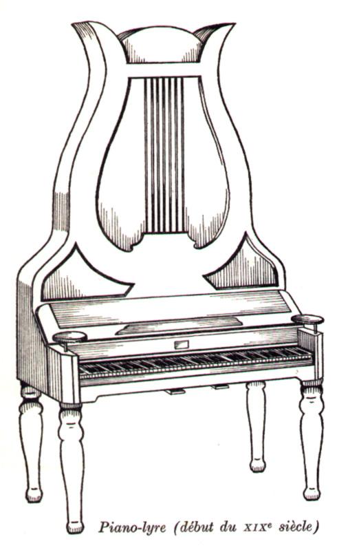 Piano-lyre